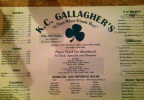 Long Island Blogger: KC Gallagher's Pub